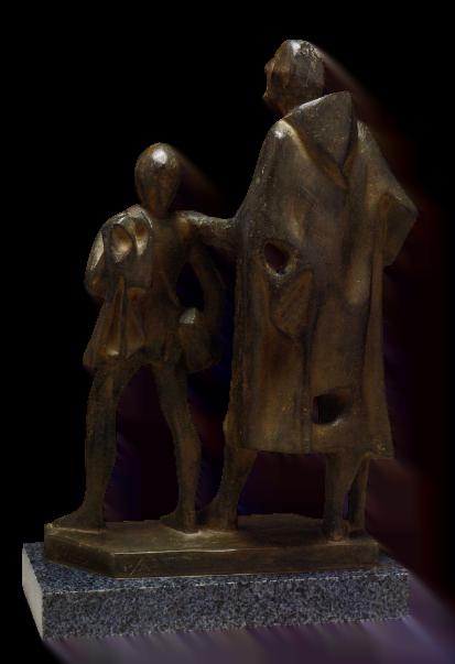 Boceto del Lazarillo y el ciego