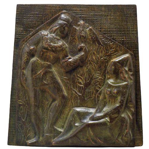 Relieve de Calisto y Melibea