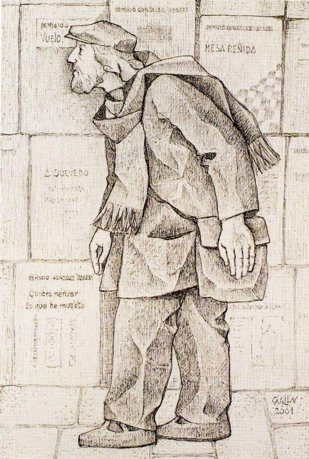 El poeta Adares