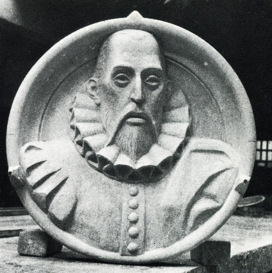 Modelo para tallar a Cervantes