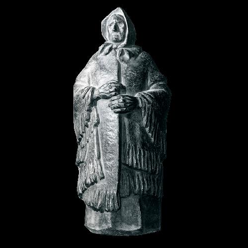 Mujer con mantón