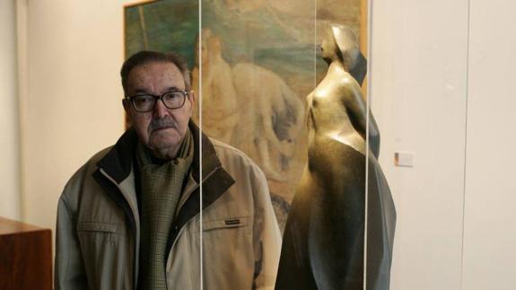 Fallece el escultor salmantino Agustín Casillas a los 95 años