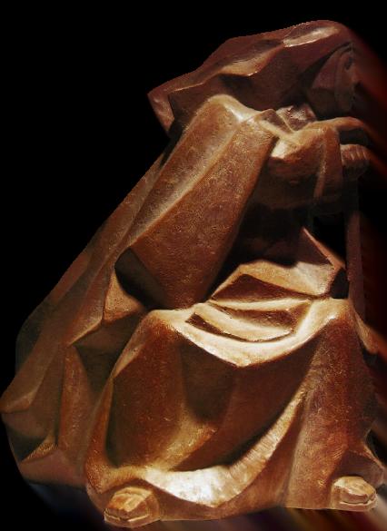 Santa Teresa descansando