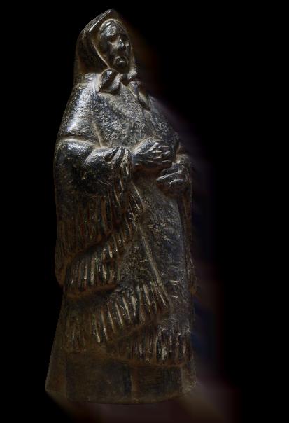 Anciana con mantón
