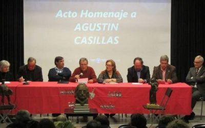 La Asociación Tierno Galván tributa un emotivo homenaje a Agustín Casillas